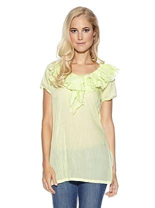 Cream Bluse Melinda (Lime)