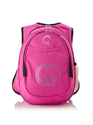 O3 Kid's All-in-One Pre-School Backpacks with Integrated Cooler (Rhinestone Peace)