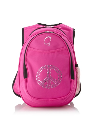 O3 Kid's All-in-One Backpack with Integrated Cooler (Rhinestone Peace)