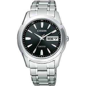 シチズン CITIZEN 腕時計 EXCEED エクシード Eco-Drive エコ・ドライブ 電波時計 Day & Date EBG74-2923 メンズ