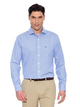 Pedro del Hierro Camisa Cuadros Vichy (Azul)