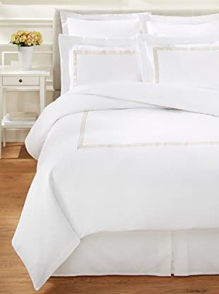 Westport Linens 3 Line Embroidery Sateen Duvet Set
