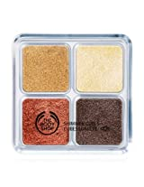 The Body Shop Spring Bronze Shimmer Cubes - Palette 30