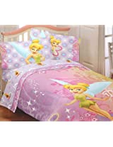 Disney Fairies TinkerBell Whimsy Tink Twin Sheet Set Tinker Bell Sheets