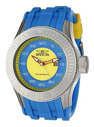 Invicta 11941 - Reloj de Caballero cuarzo poliuretano Azul
