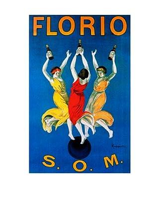 Cappiello Florio Som Giclée Canvas Print