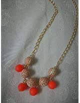Knickknack Orange bead chain