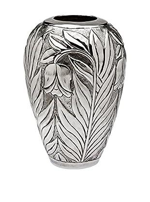 Godinger Floral Design Vase Round