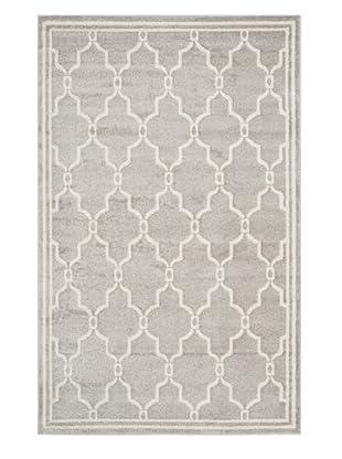 Safavieh Amherst Indoor/Outdoor Rug (Light Grey/Ivory)