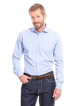 Cortefiel Camisa 1000 Rayas (Azul)