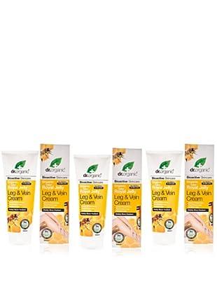 Dr.Organic Set 3 Crema Relajante para las Piernas de Miel