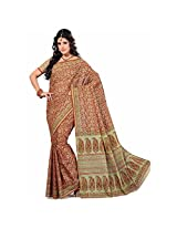 Ashika Bollywood Printed Indian Designer Cotton Sari and Saree (6682)