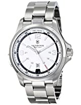 Victorinox Swiss Army White Dial Analog Men's Watch 241571