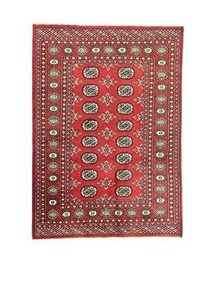 L'EDEN DEL TAPPETO Alfombra Kashmir Rojo/Multicolor 125 x 178 cm