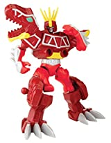 Power Rangers Dino Charge - Mixx N Morph Dino Charge Red Ranger and T-Rex Zord Action Figure