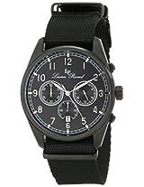 Lucien Piccard Men's LP-10588N-BB-01 Moderna Analog Display Japanese Quartz Black Watch