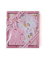 Stuff Jam Advance Baby 4 Piece Gift Set - Pink (0 - 1 Year)