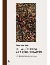 de La Dechirure a la Rehabilitation: L'Itineraire D'Henry Bauchau (Documents Pour L'Histoire Des Francophonies)