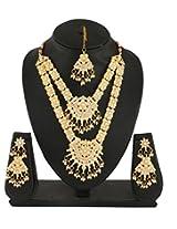 Bel-en-teno Multi-Colour Necklace Set For Women