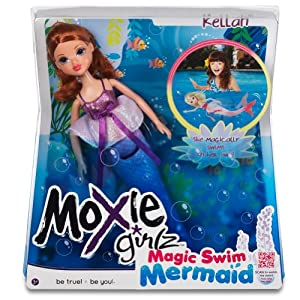 Moxie Girlz Magic Swim Mermaid Doll - Kellan