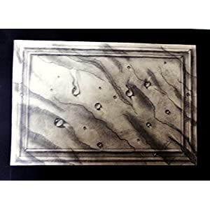 NUCreations Marble - Original Painting - Charcoal On Cartridge Paper