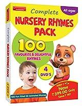 Complete Nursery Rhymes Pack 4 DVD's Infobells