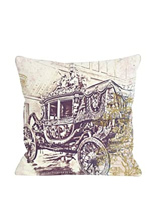 Oliver Gal by One Bella Casa Charles X Pillow, Purple Multi