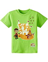Chhota Bheem Boys T-Shirt (GGAPP-MR20B-Green_3-4 years)