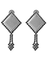 Ishita Fashion Silver coloured Dangle & Drop Earring for Women