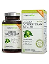 Naturewise Green Coffee Bean Extract 800 With Gca Natural Weight Loss Supplement