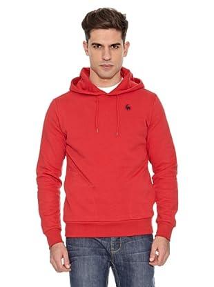 Le Coq Sportif Sudadera H Essentiels (Rojo)