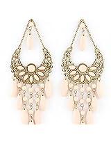 Gemstone Beads Dangle Earring for Women
