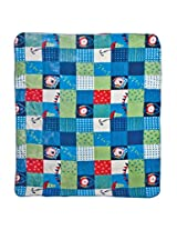 Mee Mee Soft Cozy Baby Blanket (Blue/Green)