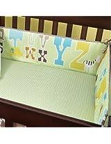 ABC 123 Cotton Crib Bumper