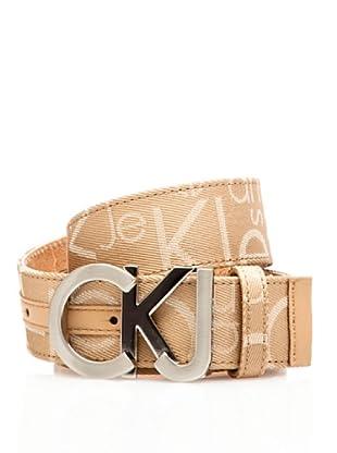 Calvin Klein Jeans Cinturón Cw22Bi (Cámel)