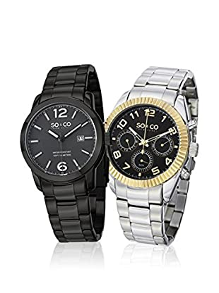 So&Co New York  Set 2 Reloj Man