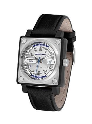 ARMAND BASI A0921G01 - Reloj de Caballero movimiento de cuarzo con correa de piel Negra