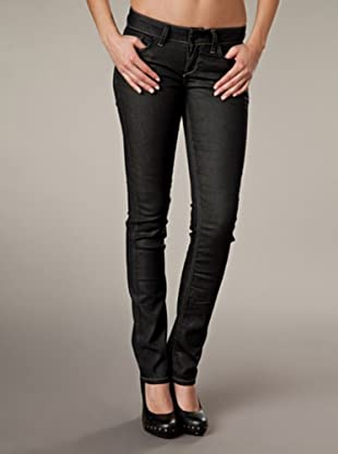 LTB Jeans Aspen Slim Fit Straight Leg Mid Rise (Schwarz)