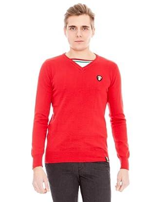 Unitryb Jersey Cuello De Pico (Rojo)