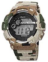 Burgmeister Men's BM803-027 Digital Display Quartz Green Watch