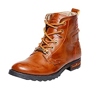 Bacca Bucci Men harley-007 Synthetic Leather Boots 6 UK