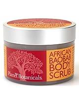 Planet Botanicals Baobab Foaming Body Scrub, 8 Fluid Ounce