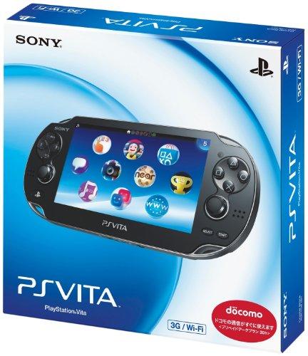 PlayStation Vita (プレイステーション ヴィータ) 3G/Wi‐Fiモデル クリスタル・ブラック (初回限定版)