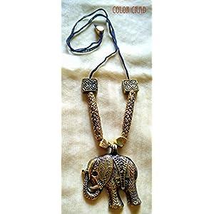 Color Crab - Tribal Elephant Neckpiece