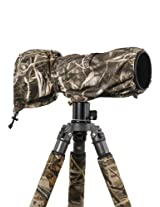 LensCoat LCRSLM4 RainCoat RS for Camera and Lens, Large (Realtree Max4 HD)