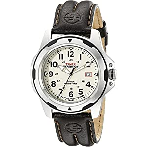 Timex Analog Off-White Dial Men's Watch - T49261