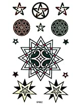 Spestyle New And Fashion Design Star Totem Fake Temp Tattoo Stickers