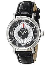 Aspen Analog Black Dial Men's Watch - AM0078