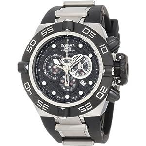 Invicta Men's 6564 Subaqua Noma IV Chronograph Black Dial Black Polyurethane Watch