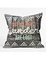 DENY Designs Wesley Bird Wander Throw Pillow, 16 x 16